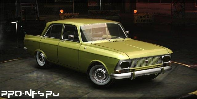 Москвич 412 для NFS: Underground 2 - новое русское авто